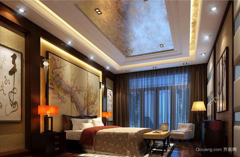 富有诗意的新中式风格大卧室装修效果图