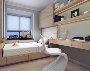 唯美大户型日式风格卧室榻榻米装修效果图