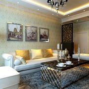 家居沙发背景装饰画