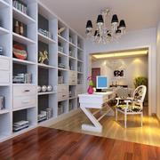 书房大型书柜装饰