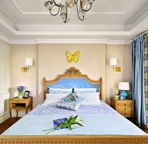 米色140平米两室一厅轻美家居设计效果图