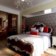 家居古典卧室床展示