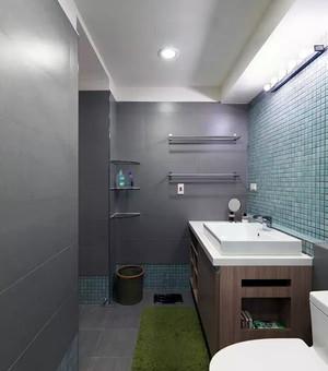 超美混搭90平米婚房两居室布置图片