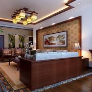 中式小客厅装饰画