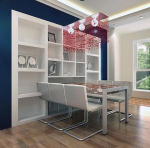 现代唯美的精装单身公寓欧式酒柜装修效果图