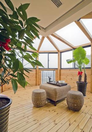 唯美的现代别墅欧式风格阳光房装修效果图实例
