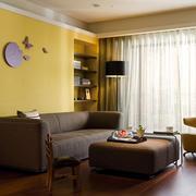120平米客厅布艺沙发展示