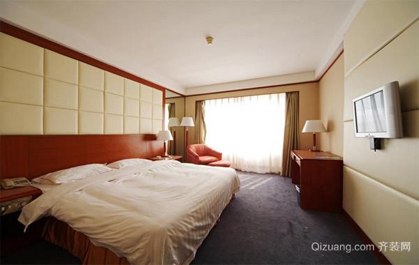 现代都市时尚型宾馆室内装修效果图实例大全