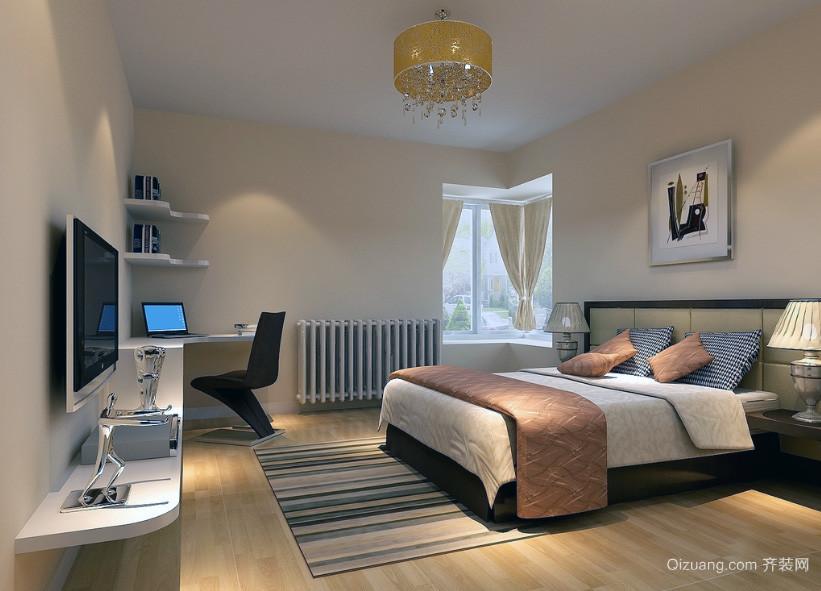 2016别墅型唯美的现代简约卧室装修效果图
