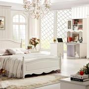 格调优雅:简欧大卧室家具装修效果图