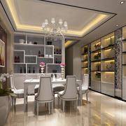2016大户型四居室餐厅简欧家具装修效果图