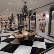 大户型新古典风格服装店吊灯装修设计图