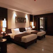 室内床铺整体设计