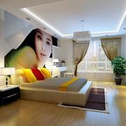 独特的卧室整体设计