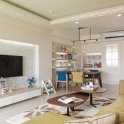 室内小客厅电视墙欣赏