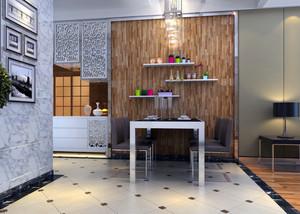 2016欧式小户型家装餐厅背景墙装修效果图鉴赏