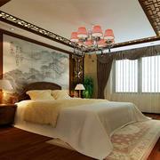 中式卧室唯美装饰