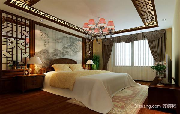 东方美:中式风格两室一厅装修效果图