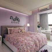 室内卧室床头别致装饰