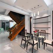 室内楼梯整体设计