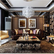 唯美大户型后现代装修风格客厅装修效果图鉴赏