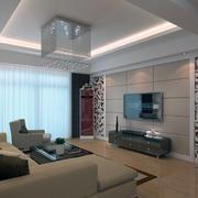 70平米小户型欧式客厅装修效果图实例