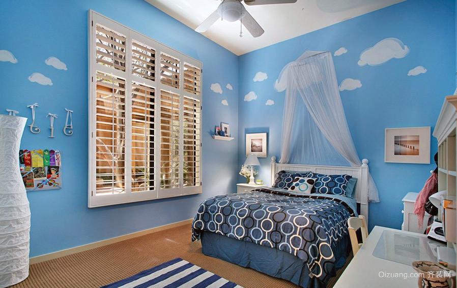 100平米房屋地中海风格儿童房装修效果图
