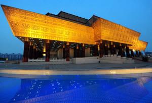 都市大型国家博物馆设计效果图