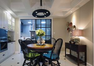 现代大户型美式风格餐厅家具装修效果图鉴赏