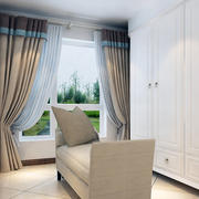 时尚的窗帘造型图