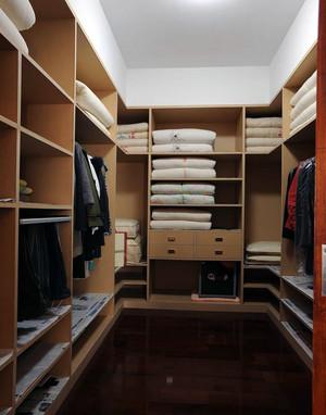 小户型家装欧式步入式衣帽间装修效果图实例