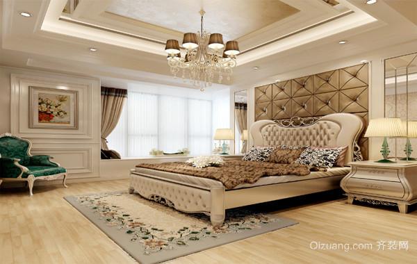 2016大户型欧式风格卧室装修样板间效果图
