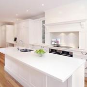 2016复式楼欧式风格厨房装修效果图实例