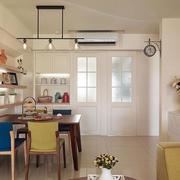 室内餐厅餐桌椅图片