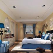 90平米大户型地中海风格卧室装修效果图鉴赏