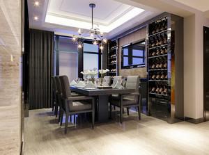打造现代奢华的290平别墅设计实景图