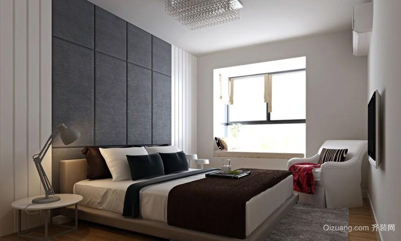 78平米小户型后现代风格卧室效果图