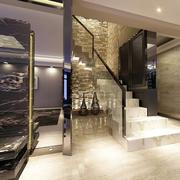 别墅时尚楼梯展示