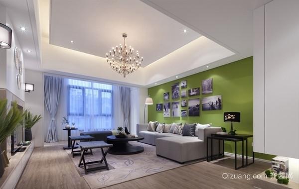 大方优雅的三室两卫简约婚房装修效果图