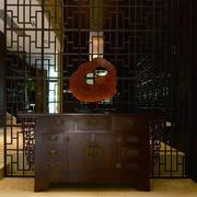 匠心独特的中式家居室内玄关装潢设计图