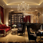 新古典欧式风格咖啡厅