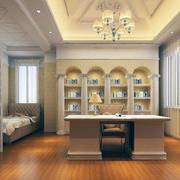 现代书房总体设计