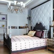 自然舒适的二居室简欧风格卧室装修效果图