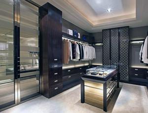 90平米大户型现代家装欧式衣帽间装修效果图