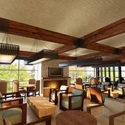 东南亚风情的咖啡厅