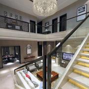 欧式风格别墅内部装修效果图实例欣赏