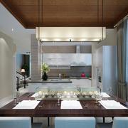 婚房开放式厨房图片