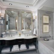 极品设计:欧式小户型卫生间装修效果图欣赏