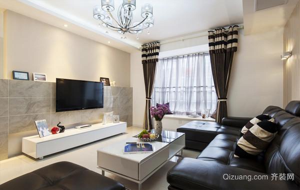 普通人家92平米两居室简约婚房装修效果图