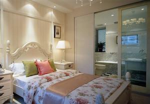 田园简欧风:小户型家装卧室样板间